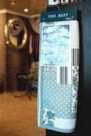 Образец тканей №62S  Плотная жаккардовая ткань для покрывал №62TS
