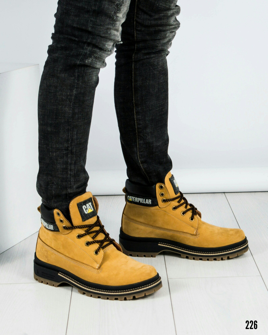 """Ботинки зимние в стиле""""C@terpillar"""" Размер 40"""