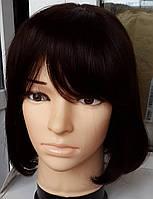 Жіночий парик з натуральних європейських волосся. Каре.