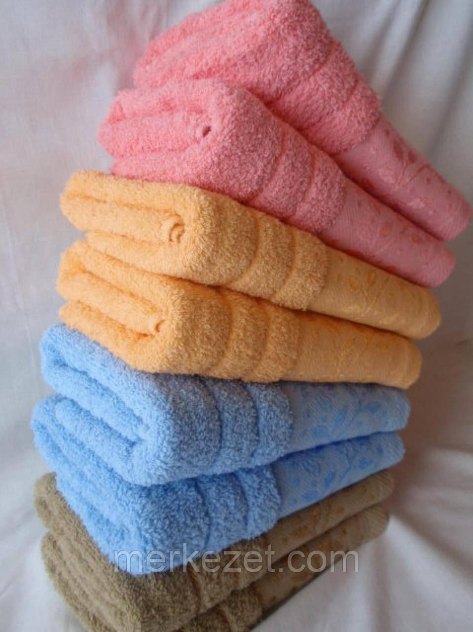 """Полотенце махровое. Полотенце """"Семицветик"""". Банные полотенца махровые"""