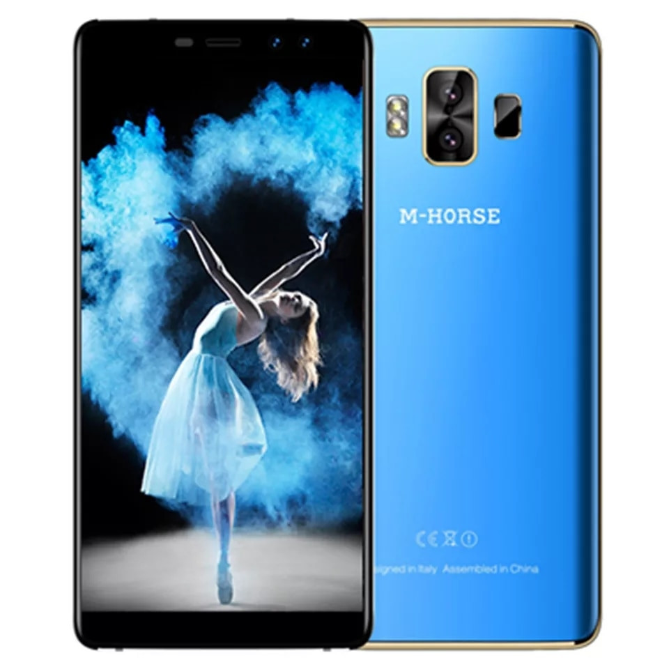"Смартфон M-Horse Pure 1 Blue, 18:9, 4G 5.7"" 3/32Gb, 4380 mAh"