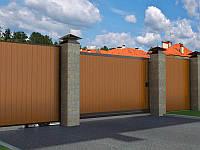 Откатные ворота DoorHan 3000 х 2000 , фото 1