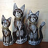 Статуэтка кота с бантиком, 30 см
