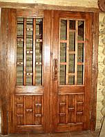 Дверь двустворчатая под старину