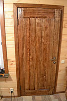 Дверь под старину из массива сосны