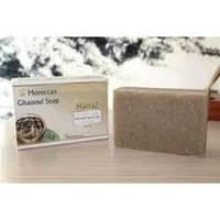 Moroccan Ghassoul Soap Harraz-Очищающее мыло