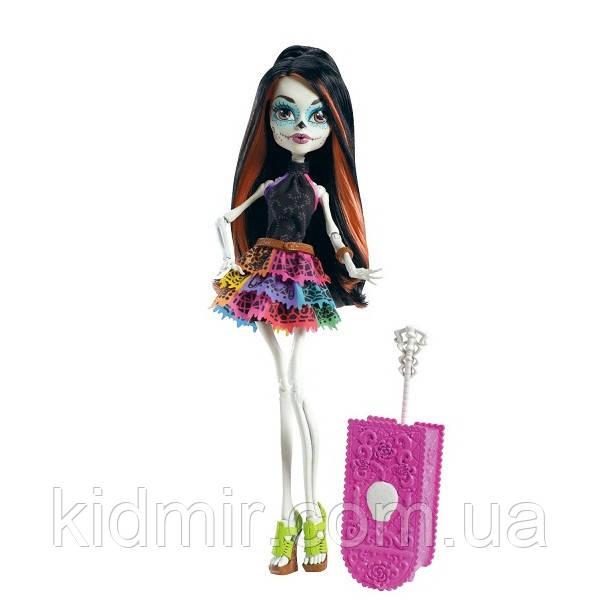 Кукла Monster High Скелита Калаверас (Skelita Calaveras) из серии Travel Scaris Монстр Хай