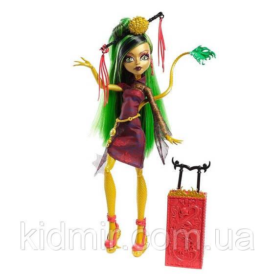 Кукла Monster High Джинафаер Лонг (Jinafire Long) из серии Travel Scaris Монстр Хай