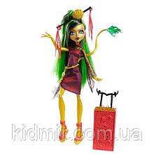 Лялька Monster High Джинафаер Лонг (Jinafire Long) з серії Travel Scaris Монстр Хай