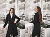 """Женское кашемировое пальто на запах """"Coalis"""" с карманами (7 цветов), фото 4"""