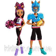 Набор кукол Monster High  Клод и Клодин Вульф (Clawdeen Wolf & Clawd Wolf) Winning Werewolves Монстр Хай