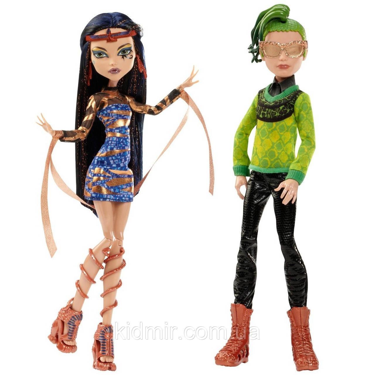 Набір ляльок Monster High Дьюс і Клео (Deuce & Cleo) з серії Boo York Монстр Хай