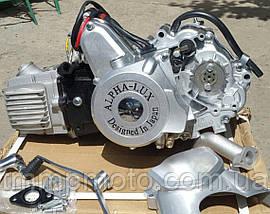 Двигатель Альфа-107см3 52,4мм механика оригинал ТММР, фото 2