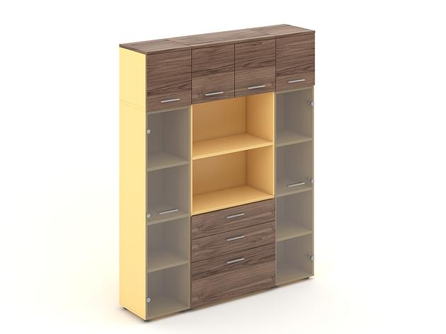 Комплект мебели для персонала серии Прайм композиция №21 ТМ MConcept, фото 2