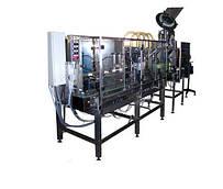 Комплект оборудования для линии разлива питьевой воды в ПЭТ-бутылки емкостью 5-6 литров УМА-04.04.01
