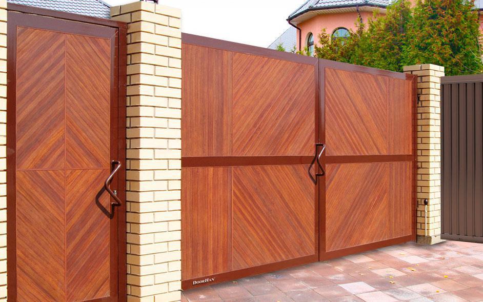 Откатные ворота Premium DoorHan