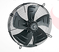 Осевой вентилятор BAHCIVAN охлаждающий, моно-фазный.