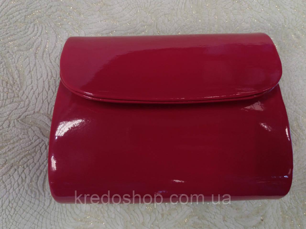 699b3b6c5ef5 Клатч вечерний лаковый красивый малинового цвета (Турция) - Интернет-магазин  сумок и аксессуаров