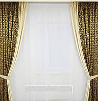 Шторы классические для гостинной,спальни