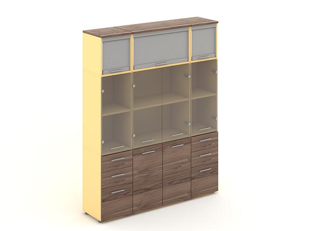 Комплект мебели для персонала серии Прайм композиция №23 ТМ MConcept, фото 2