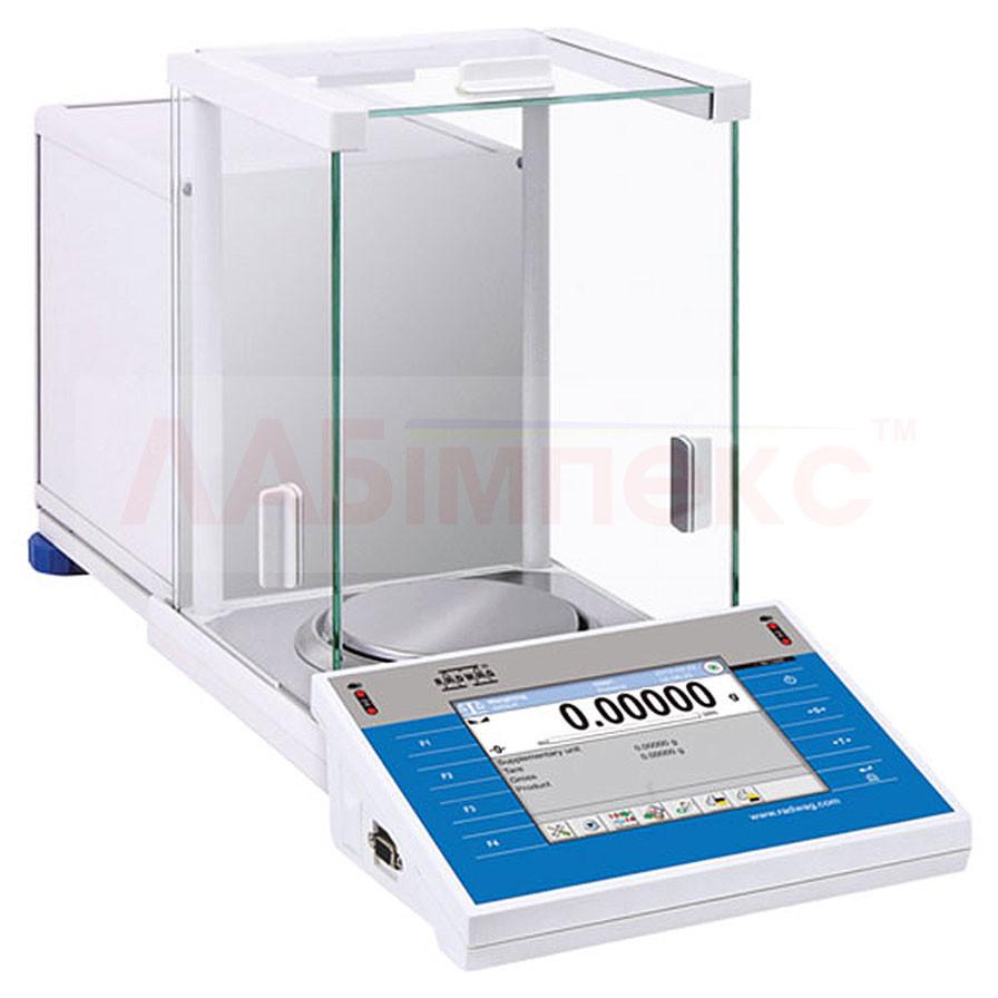 Весы аналитические сенсорные XA .../Y (0.00001), Radwag