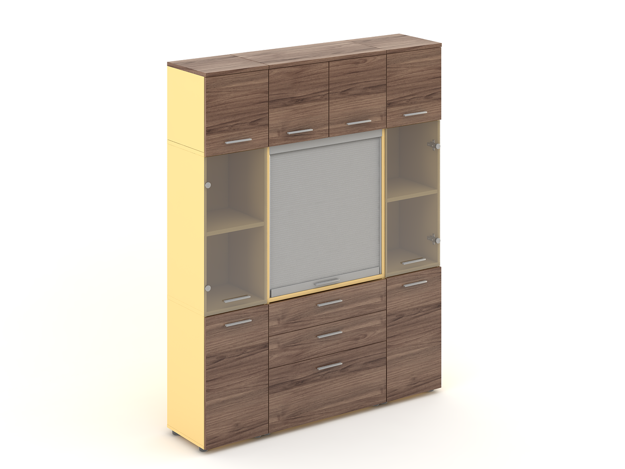 Комплект мебели для персонала серии Прайм композиция №24 ТМ MConcept