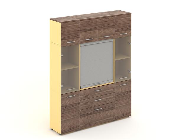 Комплект мебели для персонала серии Прайм композиция №24 ТМ MConcept, фото 2