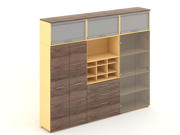 Комплект мебели для персонала серии Прайм композиция №28 ТМ MConcept, фото 2