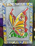 Витражная раскраска 'Glitter decor' Бабочка (GD-01-04), фото 3