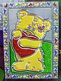 Витражная раскраска 'Glitter decor' Мишка (GD-01-05), фото 3