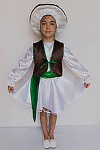 Костюм «Гриб Боровик (девочка)» 5 предметов (95-120 см)