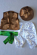 Костюм «Гриб Опёнок (мальчик)» 4 предмета (95-120 см) , фото 3
