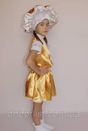 Костюм «Гриб Лисичка (девочка)» 3 предмета (95-120 см), фото 2