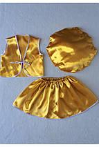 Костюм «Гриб Лисичка (девочка)» 3 предмета (95-120 см), фото 3
