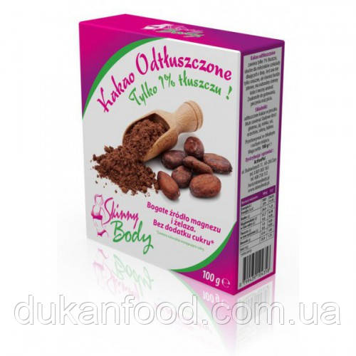 Какао - порошок обезжиренный, 1%