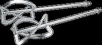 Набор мешалок для строительных растворов 50 x 120 мм, углеродистая сталь, GRAPHITE 58G788-97.