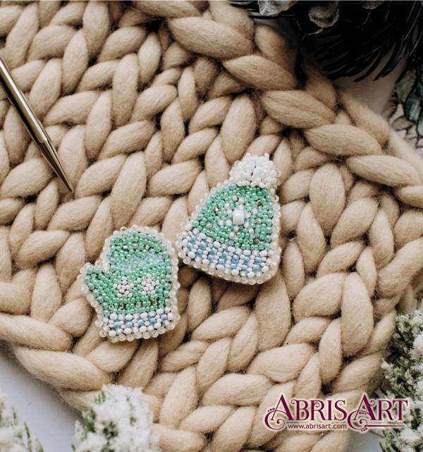 Набор для вышивки бисером украшения Зимушка-зима