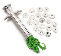 Экструдер-шприц для полимерной глины, различных техник. 19 различных насадок