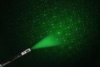 Зеленый лазер указка 300 мВт с насадкой звездное небо