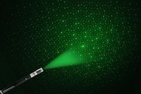 Зеленый лазер указка 300 мВт с насадкой звездное небо, фото 1