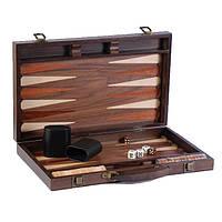 Нарды в деревянном кейсе Орех (115-10812709) КОД: 396232