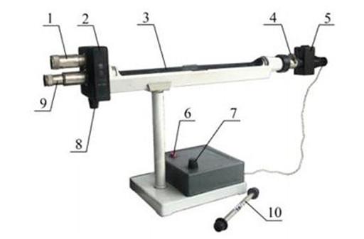 Конструкция прибора для измерения содержания сахарозы в растворе