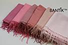 """Турецкий однотонный кашемировый шарф """"Адель"""" (розовый), фото 4"""