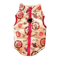 Теплая одежда для собак мелких пород куртка Модная штучка