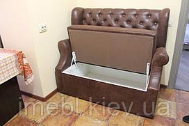 Маленький диванчик в кухню (Коричневий)