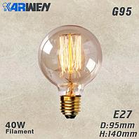 Декоративная лампа накаливания Эдисона