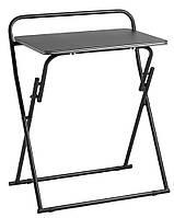 Стол для ноутбука напольный раскладной на ножках