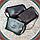 Женская маленькая сумка изумруд натуральная кожа, фото 3