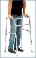 Ходунки для инвалидов складные, шагающие, регулируемые по высоте Simbo,(Украина)