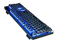 Клавиатура REAL-EL M47 RGB USB черный